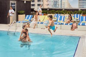 The swimming pool at or near Wyndham Dubai Marina