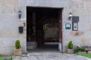 The facade or entrance of Casa dos Ulloa