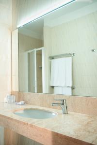 A bathroom at Hotel Califfo