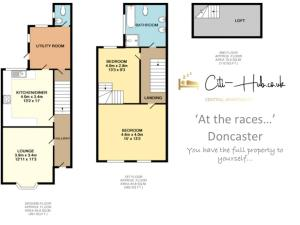 The floor plan of 'At the races...'