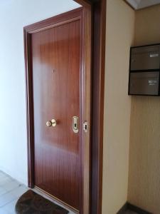 A bathroom at Apartamentos Deluxe Barajas