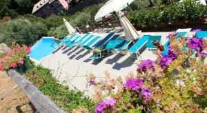 A view of the pool at Agriturismo Le Pale or nearby