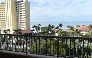 A balcony or terrace at La Playa Beach & Golf Resort, a Noble House Resort