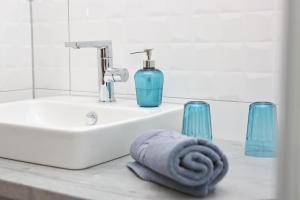 Ein Badezimmer in der Unterkunft Gasthof Adler Inneringen