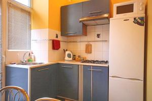 A kitchen or kitchenette at Park and Opera Apartments