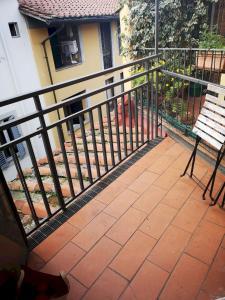 A balcony or terrace at Uffizi Harmony