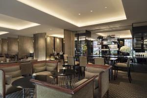 The lounge or bar area at The Sukhothai Bangkok