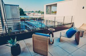 A balcony or terrace at South Congress Hotel