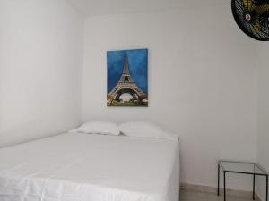 Cama o camas de una habitación en HOTEL SAN JUAN PLAZA