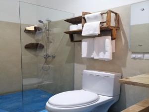 Ein Badezimmer in der Unterkunft House Jardin Del Caribe