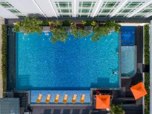 A view of the pool at Hatten Hotel Melaka or nearby