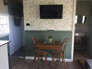 A television and/or entertainment center at Peg Cottage