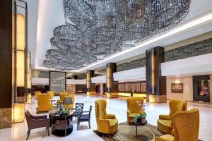 The lounge or bar area at Hatten Hotel Melaka