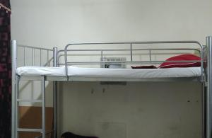 A bunk bed or bunk beds in a room at Welcom Tourist Hostel