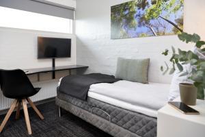 Et opholdsområde på HORISONT Hotel & Konference