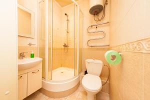 Ванная комната в Ё-home Говорова 12 2х2 бесконтактное заселение 24-7