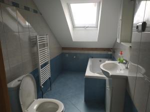 Ванная комната в Penzion U Heřmánků Volary