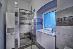Kúpeľňa v ubytovaní Apartmán BB centrum