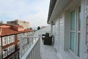 Ein Balkon oder eine Terrasse in der Unterkunft Premist Hotels Sultanahmet