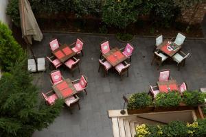 Blick auf Premist Hotels Sultanahmet aus der Vogelperspektive