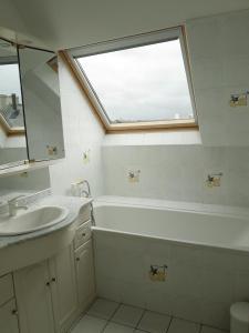 Een badkamer bij Le Prat - Santec