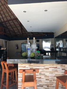 A restaurant or other place to eat at Salvia Cancun Aparts