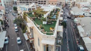 A bird's-eye view of Old Jaffa Hostel
