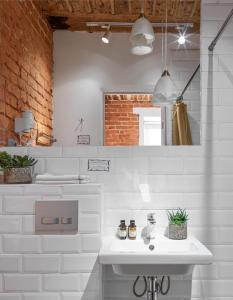 Ванная комната в Ситикомфорт на Тверской