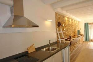Küche/Küchenzeile in der Unterkunft Agroturismo Fincahotel Son Pou