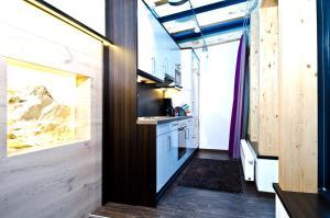 A kitchen or kitchenette at Astellina hotel-apart