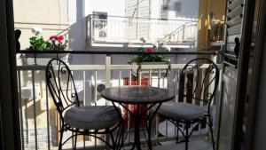A balcony or terrace at Casa Vacanze Chiara