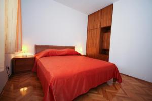 Un ou plusieurs lits dans un hébergement de l'établissement Apartments Villa Marijeta