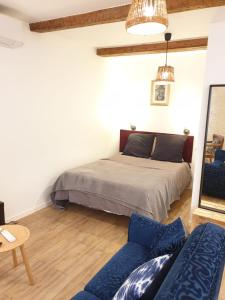 A bed or beds in a room at Chanflo 1