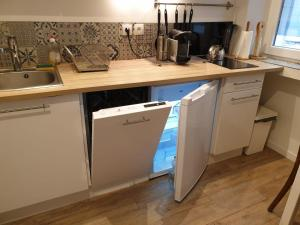A kitchen or kitchenette at Chanflo 1