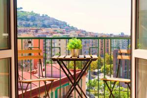 A balcony or terrace at B&B il Faro