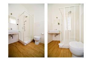 A bathroom at B&B il Faro