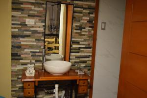 Un baño de Casa Saphi