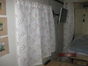 Ein Bett oder Betten in einem Zimmer der Unterkunft Upleward Cottage
