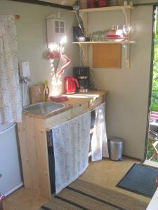 Küche/Küchenzeile in der Unterkunft Upleward Cottage