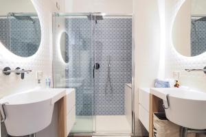 A bathroom at Moscova Luxury B&B