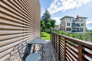 Балкон или терраса в Residence Lenno