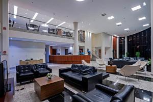 Гостиная зона в Firenze Business Hotel