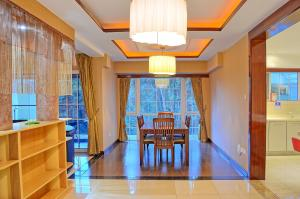 A restaurant or other place to eat at Clarence House Nairobi