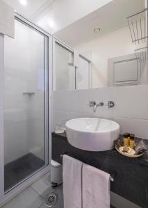 A bathroom at Casa do Campo de São Francisco