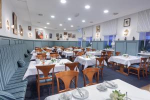 En restaurant eller et andet spisested på Hotel Bremer Hof