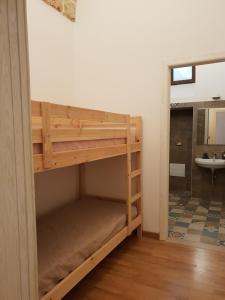 Letto o letti a castello in una camera di Palazzo dei Saraceni