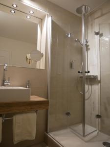Ein Badezimmer in der Unterkunft Landgasthof Hotel Hess