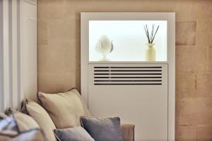 Area soggiorno di Anima Pietra Luxury Suite