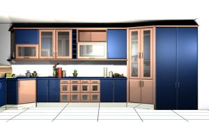 A kitchen or kitchenette at Simbioso