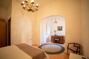 A seating area at Guesthouse Le Oche di Bracchio
